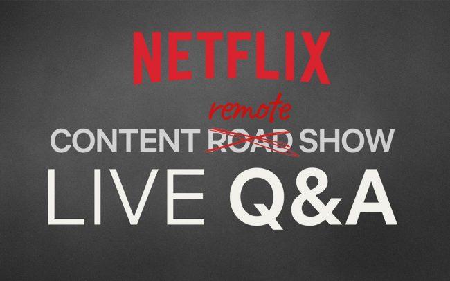 Netflix Content Remote Show
